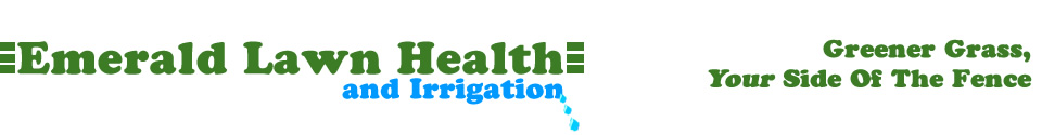 Emerald Lawn Health And Irrigation. Greener grass, your side of the fence.